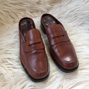 Cole Haan Country Leather Penny Loafer Mules